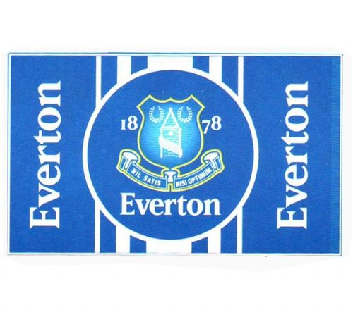 EVERTON FOOTBALL CLUB FLAG LARGE SIZE OFFICIAL 5' X 3'